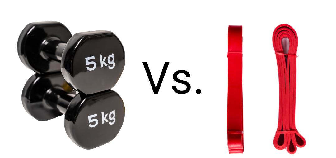 Uteži vs. elastični trakovi: Kaj je bolj varno za vadbo doma?